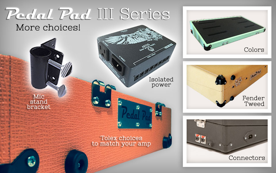 Pedal Pad III Features and Options