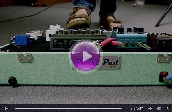Pedal Pad™ Pedal Board Video